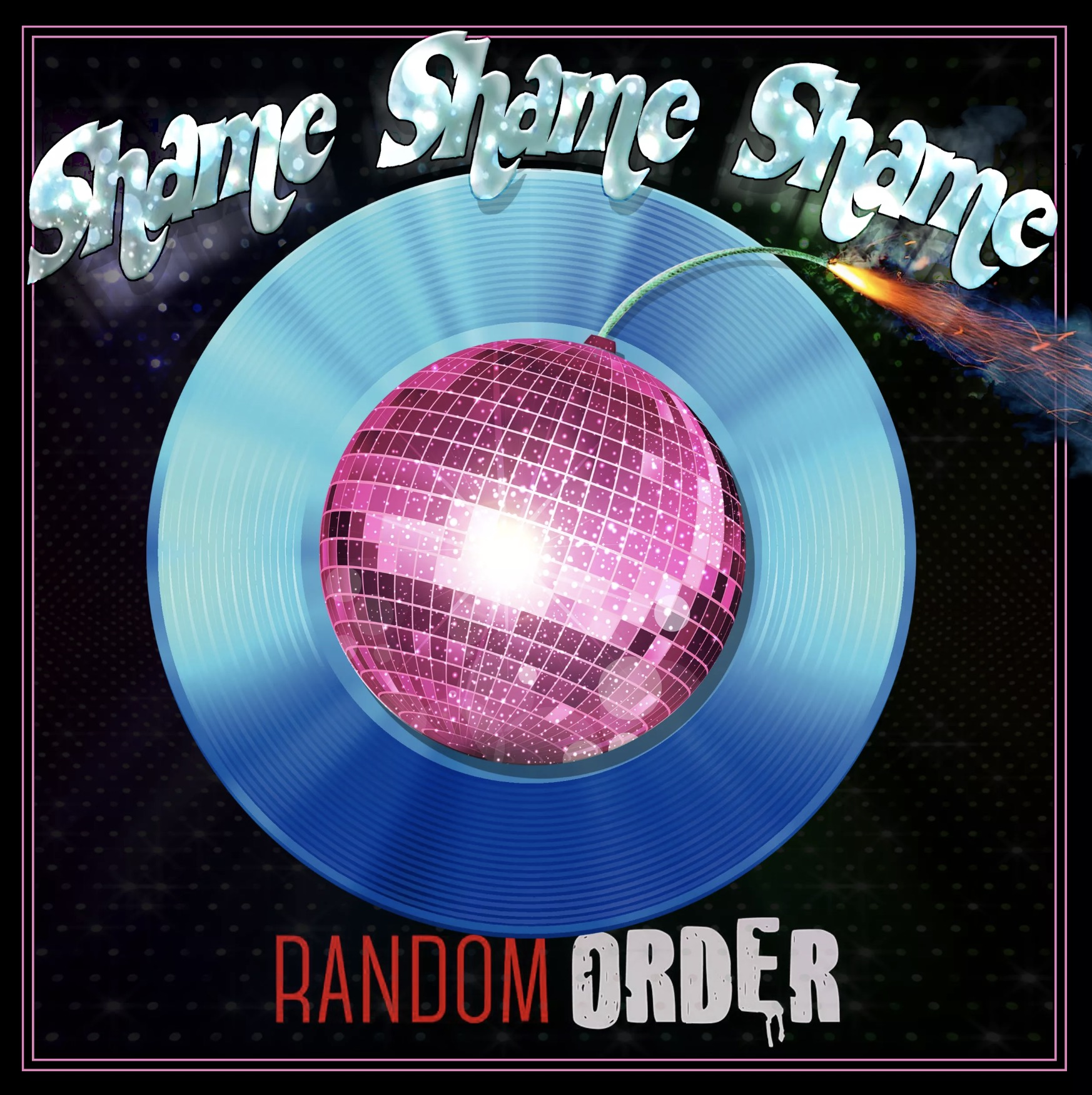 shame shame shame random order band parents suck font